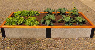 GreenBed Raised Garden Bed Kits Made With Faswall Block