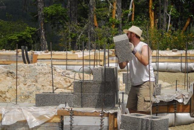 concrete form material