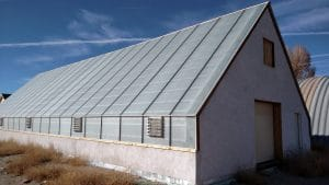 Greenhouse, Faswall, cold climate greenhouse, four-season greenhouse, Gunnison, Colorado