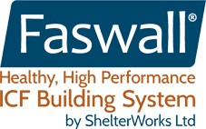 Healthy, High Performance ICF Building System | Faswall Blocks Healthy Building Materials