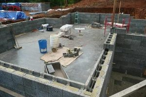 ICF natural Basement walls