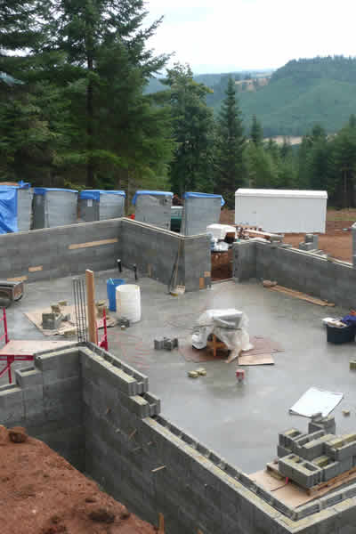 Faswall Foundation Walls With Vapor Permeability Features