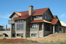 A Home built using the Faswall Insulated wood-concrete forms