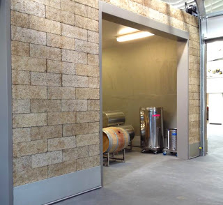 Faswall for Wine Storage Barrel Rooms