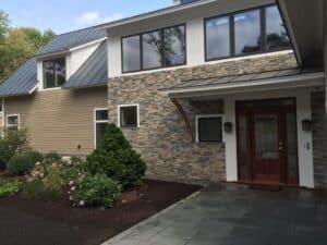 Faswall green building block home in MA