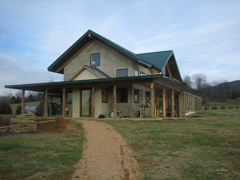 TVirginia Faswall Farm home