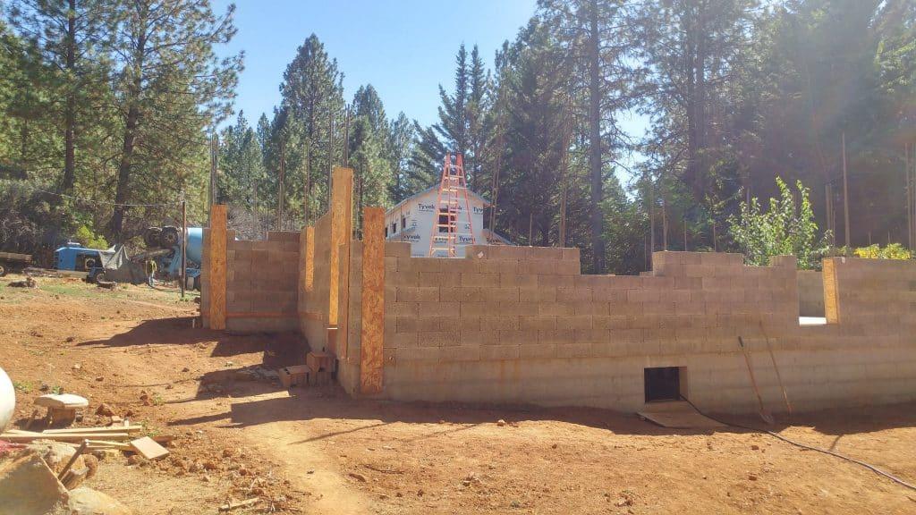 Fire Safe Wall Rebuild 2