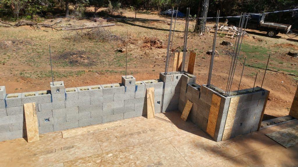 Fire Safe Wall Rebuild 8