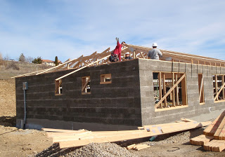 Faswall ICCF wall form building